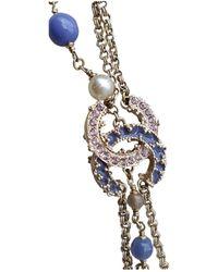 Chanel Bracelets CC en Métal Multicolore