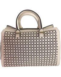 Victoria Beckham - Pre-owned Ecru Leather Handbags - Lyst