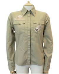 Givenchy Beige Cotton Top - Natural