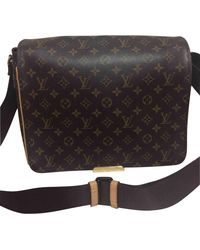 Louis Vuitton Bolsos en lona marrón