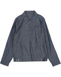 Louis Vuitton - Pre-owned Blue Linen Shirts - Lyst