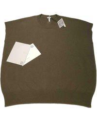 Loewe Khaki Cashmere Knitwear & Sweatshirts - Multicolour