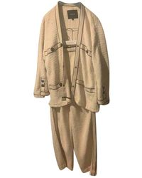 Maje Spring Summer 2020 Tweed Kostüm - Mehrfarbig