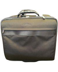 Longchamp Cloth Travel Bag - Black