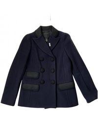 Marc Jacobs Wool Blazer - Blue