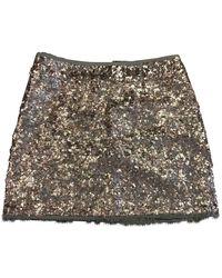 Zadig & Voltaire Glitter Mini Skirt - Pink