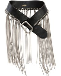 Jean Paul Gaultier   Pre-owned Leather Belt   Lyst