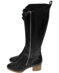 Chloé - Leather Boots - Lyst