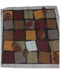 Cartier Seide Schals - Mehrfarbig