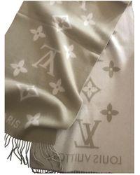 Louis Vuitton Cashmere Scarf - Natural