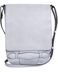 Sonia Rykiel - Blue Leather Handbag - Lyst