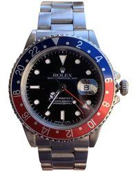 Rolex GMT-Master II Silber Uhren - Mettallic