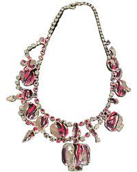Tom Binns Crystal Necklace - Multicolor