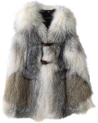 Louis Vuitton Fox Cardi Coat - Grey