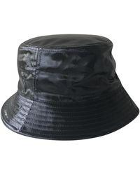 Chanel Cappelli in pelle nero