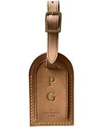 Louis Vuitton Petite maroquinerie Porte adresse en cuir - Marron