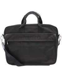 Longchamp Leather Handbag - Black