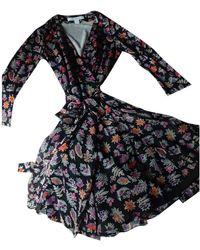 Diane von Furstenberg Vestito in Seta - Multicolore