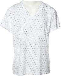 Balmain - White Cotton Top - Lyst