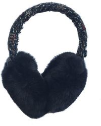 Chanel Black Fur Hats
