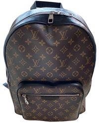 Louis Vuitton Josh Backpack Leinen Taschen - Mehrfarbig