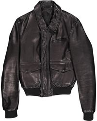 BLK DNM Vest en Cuir Noir