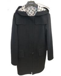 Louis Vuitton Wool Dufflecoat - Black