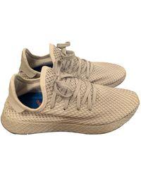adidas Deerupt Runner Beige Cloth Trainers - Natural