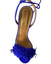 Aquazzura Wild Thing Sandal - Blue