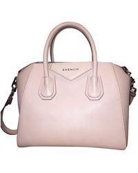 Givenchy Antigona Leder Handtaschen - Natur