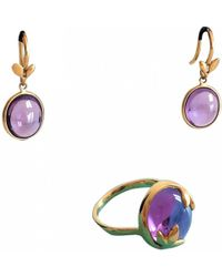 Tiffany & Co. - Paloma Picasso Purple Yellow Gold Jewellery Sets - Lyst