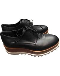 Jil Sander - Pre-owned Leather Lace Ups - Lyst
