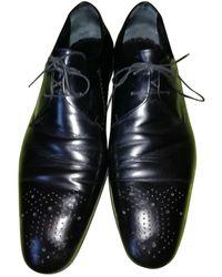 Louis Vuitton Derbies en Cuir Noir