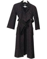 Chanel Cappotto Tweed - Nero