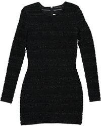 Prabal Gurung - Black Polyester Dress - Lyst