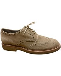 Burberry Lace Ups - Brown