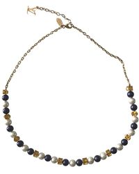 Louis Vuitton - Pearl Necklace - Lyst