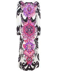 Emilio Pucci Silk Maxi Dress - Multicolor