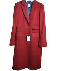 Stella Jean Wool Coat - Red