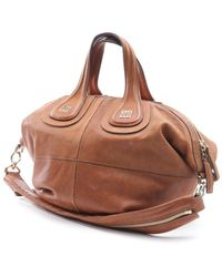 Givenchy - Nightingale Beige Leather Handbag - Lyst