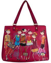 Moschino Leather Handbag - Pink