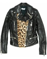 Mulberry - Black Leather Jacket - Lyst