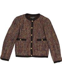 Chanel - Wool Short Vest - Lyst