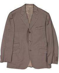 Hermès Wool Suit - Brown
