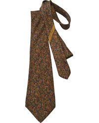 Ferragamo Seide Krawatten - Mehrfarbig