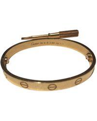 Cartier Love Roségold Armbänder - Mettallic