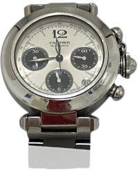 Cartier Pasha Chronographe Uhren - Mettallic