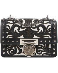 Balmain Leder Handtaschen - Schwarz