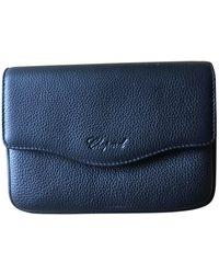 Chopard Leather Clutch Bag - Black
