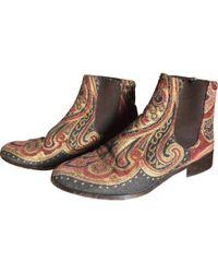 Claudie Pierlot - Multicolour Cloth Boots - Lyst